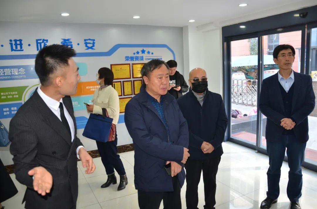 济南市工信局生物医药处张奇良处长一行来我司调研指导